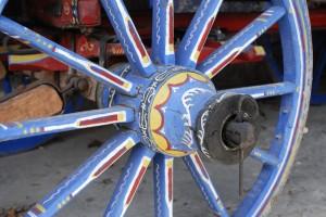 Bulgarisches Wagenrad